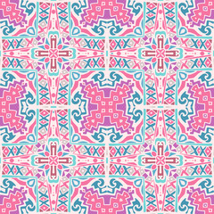 seamless vector pattern geometric print