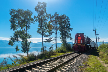 Tourist train rides on the Circum-Baikal Railway