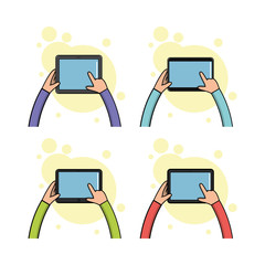 Cellphone and tablets