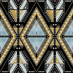 Ethnic geometrical pattern, tribal seamless, aztec pattern, mexican print