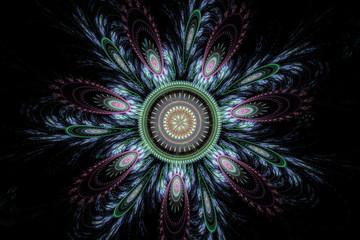 Abstract julian fractal.