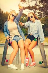 Skater Girl Friends