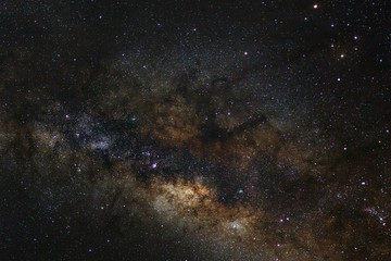 The center of the milky way galaxy..