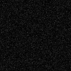 Black abstract background with film grain texture, noise, dotwork, halftone, grunge for design concepts, banners, posters, wallpapers, web, presentations and prints. Vector illustration.