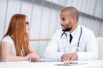 Doctor and Patient meeting