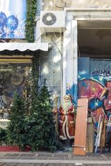 Santa in Athens