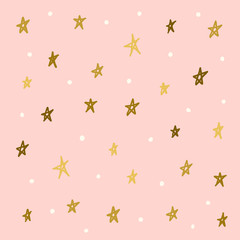 Star pattern background. Good night and sweet dreams theme.