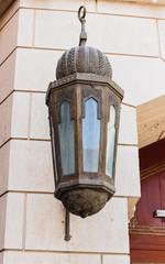 metal streetlight