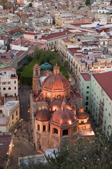 View of Guanajuato from El Pipila Monument, Guanajuato, Mexico