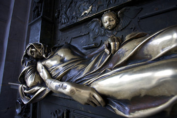 Everard 't Serclaes Statue, Brussels, Belgium