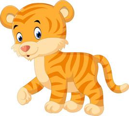 Cute tiger cartoon