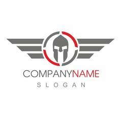 company name - company logo