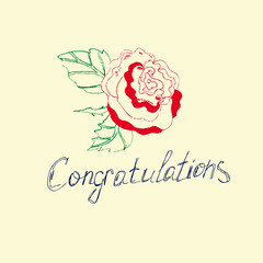 Congratulations on the flower.