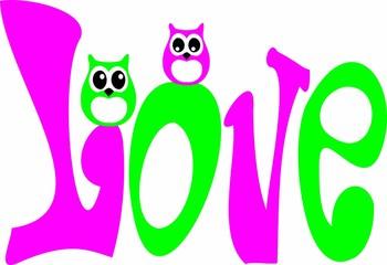 Verliebte Eulen