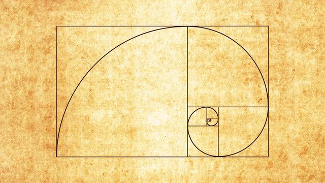 The Golden Spiral / Sacred Geometry Spiral