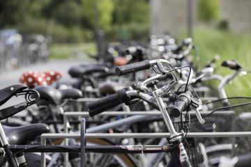 Fahrrad-Stellplätze