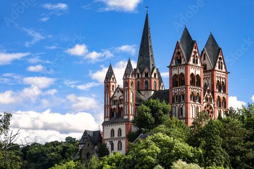Limburger Dom Limburg An Der Lahn Hessen Stockfotos Und