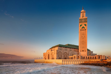 Casablanca mosque of Hassan 2