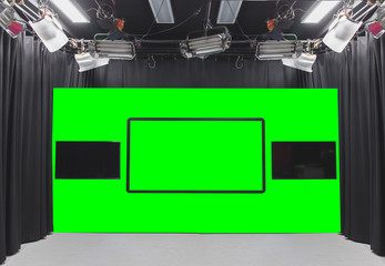 green photo studio