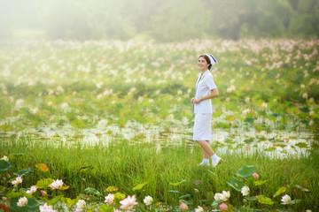 smiling beautiful nurse