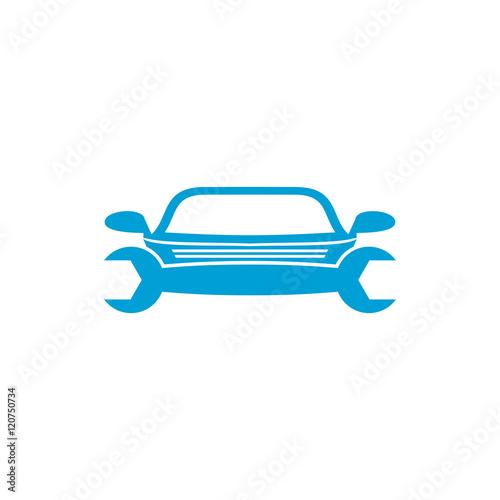 Car mechanic icon