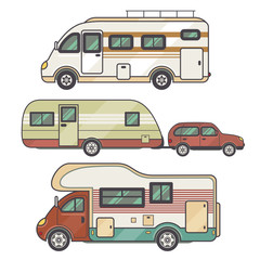 Set transport facility - caravan