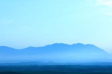 大観峰からの阿蘇の朝
