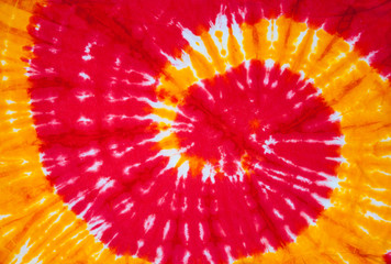 spiral tie dye design for background.