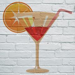 Art urbain, cocktail