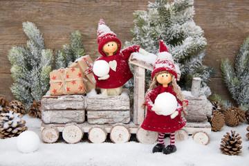 Lustige Weihnachtswichtel