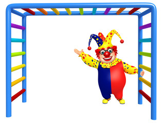 Clown with Climbing