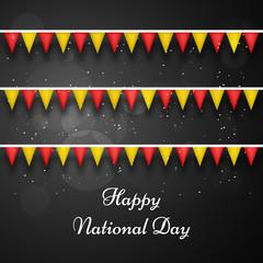 China National day background
