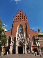 Basilica of the Holy Trinity in Krakow, Poland.