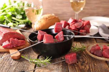 beef fondue