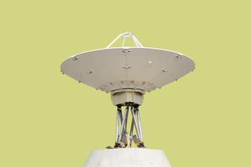 radio telescope isolated