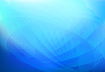 abstract wave background blue