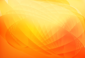 abstract wave background orange Fototapete