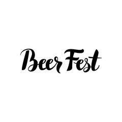 Beer Fest Calligraphy
