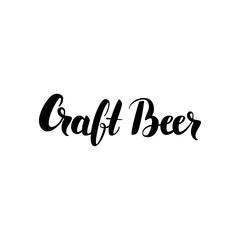 Craft Beer Lettering