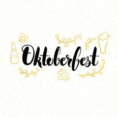 Oktoberfest Lettering Card