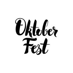 Oktoberfest Lettering Postcard