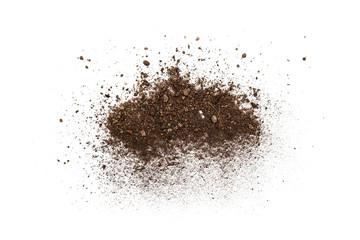 Soil up, close up