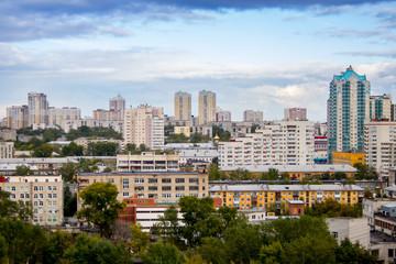 YEKATERINBURG, RUSSIA - september, 15, 2016: Yekaterinburg city, city center view, Ekaterinburg, Urals, Russia