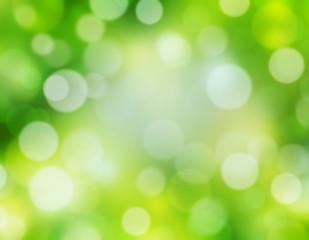 Green nature blur defocused background.