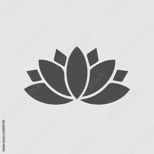 Lotus flower vector icon spiritual simple isolated sign symbol lotus flower vector icon spiritual simple isolated sign symbol mightylinksfo