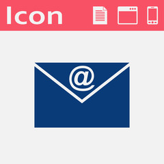 vector icon of mail