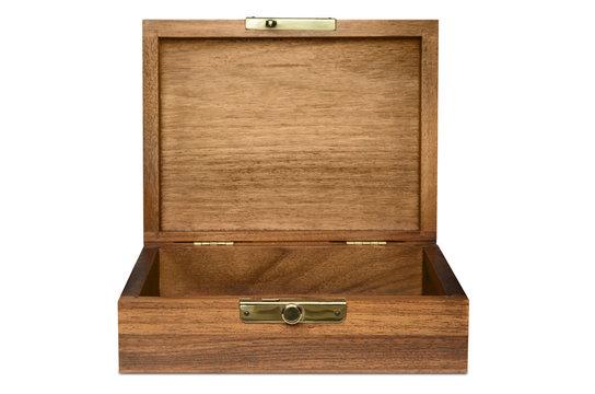 Wood Box Straight View