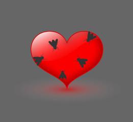 Flies on Heart