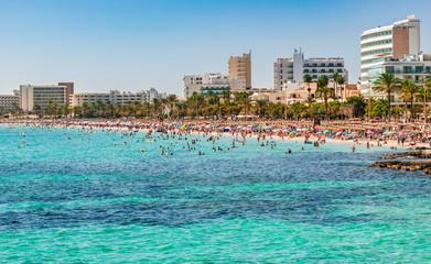 Spain Coastline Beach Majorca Cala Millor