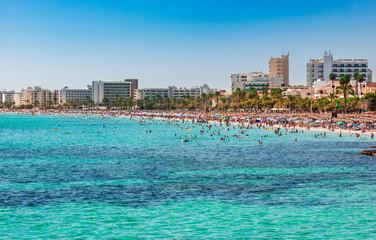 Spanien Küste Strand Sommer Urlaub Mallorca Cala Millor